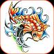 Koi Fish Tattoo Designs by FashionHive