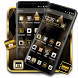 Simple Black Gold Theme by Best Cool Theme Dreamer