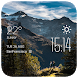 Huge mountain weather widget by Widget Innovation