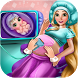 Long Hair Mommy Newborn Baby by Pregnant MGames