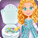 Ice Princess Toilet Time by Newborn Baby Dress Up Makeup Nail Salon Girl Games