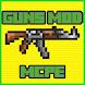 GUNS Mod for mcpe by Mods mcpe