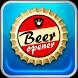 Waiter beer opener