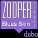 Blues Zooper Skin by DebO