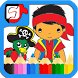 Jake The Pirates Coloring Book by Fairtech Game Developer