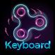 Fidget Spinner Keyboard by BestSuperThemes