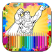 Super Heroes Coloring Book by Nano System