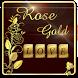 Gold Rose Keyboard Theme by Echo Keyboard Theme