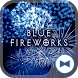 Cool Wallpaper Blue Fireworks Theme