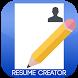 MyResume Resume Creator by Quantum X, Inc