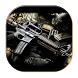 Guns Keyboard by live wallpaper collection