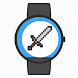 Retro pixel game watch face by Tsoglani Co.