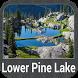 Lower Pine Lake - IOWA GPS Map