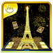 Gold Paris Keyboard Theme