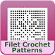 Filet Crochet Patterns Mobile by Crochet Designs