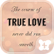 Cute Theme-True Love Poem- by +HOME by Ateam