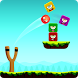 Slingshot Knock Down by onebird games