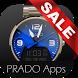 Steel Color Watch Face by PRADO Apps