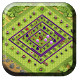 Town Hall 10 Farming Base Maps by sankaapps