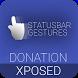 Statusbar Gestures Donation by ChrisXe