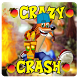 Crazy Crash Fox Bandicoot Adventure Jungle 2017 by Dope Store