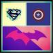 Minimalist Superheros Wallpaper HD by shaperdroid