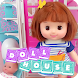 Doll House & Play House with Furniture