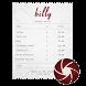 billy: Smart Bill Splitter by Workaholic