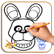 How to Draw Bonnie FNAF by Uno Studios