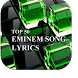 Eminem 50 Top Song Lyrics by TECdev