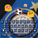 Inter Milan Keyboard Themes by Football Theme Keyboard