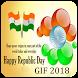 Republic Day GIF ,26 January Image wishes by Sumeru Sky Developer