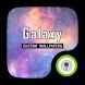 (FREE) Galaxy Theme GO Locker by ZT.art