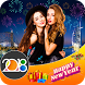 New Year DP Maker : New Year Profile PIC Maker by Photo Video Movie Maker With Music