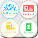 Aadhar Pan PNR Passport by 7velly