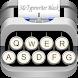 3D Typewriter Black & White