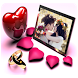 Valentine Day Photo Frame by Appscodder