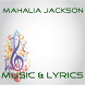 Lyrics Mahalia Jackson by Saestudio