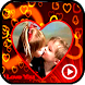 Video Maker Heart Photo Frames