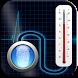 Finger Body Temperature Checker Gauge Prank