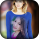 Girl T Shirt Photo Frame by Framography Apps