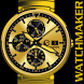 WATCH FACE GOLD ELEGANT BLACK by Tak Team Studio