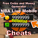 Cheats NBA Live Mobile - prank by Daemonapp.inc