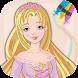 Paint Rapunzel magic drawings by Empadura