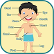 Learning Human Body Parts by Aflatoon Games
