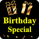 Happy Birthday Special - Gifs, Frames, Wishes by GeekAffair