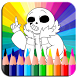 Coloring Pages for Undartale by JackNapps
