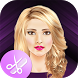 Blonde Hairstyle Makeover by Photo Editor And Voice Changer Apps