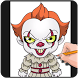 How To Draw Pennywise IT(Pennywise IT Drawing) by AdamStudios