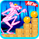 super pink world panther running by MC-devlopre